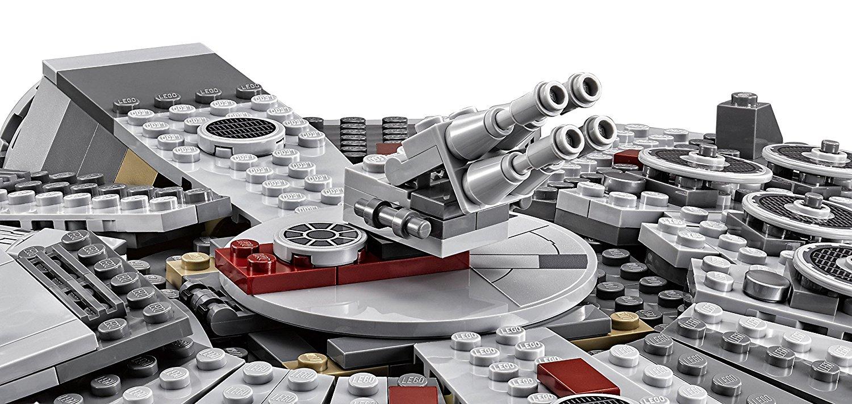 alcon milenario lego maqueta