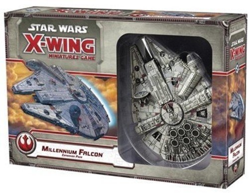 maqueta alcon milenario x wings