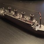 metal earth titanic maqueta