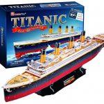 titanic puzzle 3d maqueta