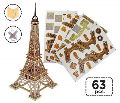 maqueta puzzle torre eiffel