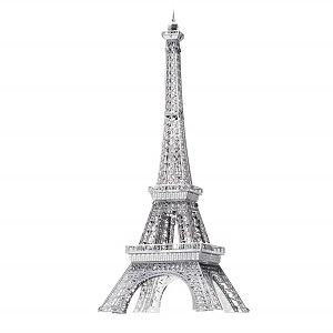 maqueta torre eiffel metal