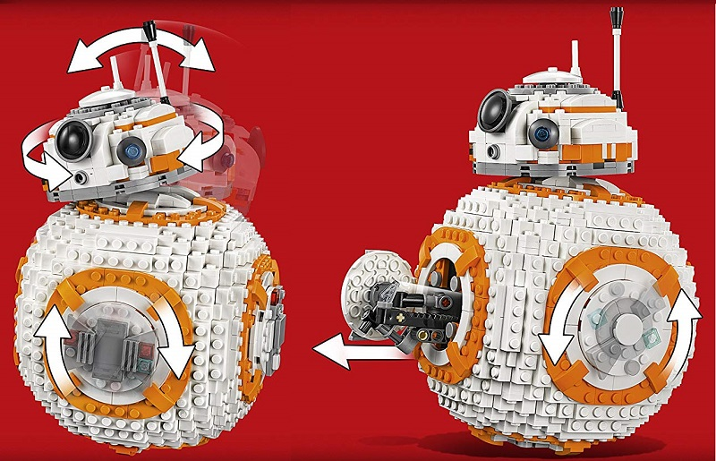 lego star wars bb8 maqueta