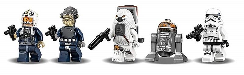LEGO Y Wing Starfighter 75172 figuras